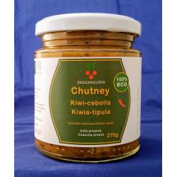 Chutney de kiwi-cebolla