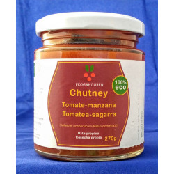 Chutney de Tomate-Manzana